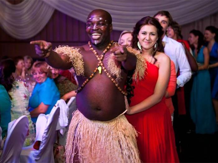 Зажигательная африканская вечеринка в Персоне Грата
