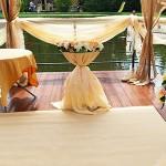 Персиковая свадьба в ресторанном комплексе «Дворянское гнездо»