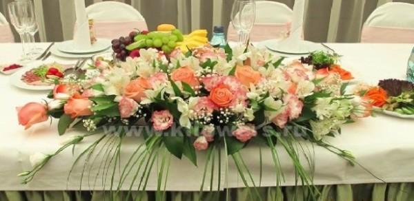 Флористическое сопровождение свадебных торжеств - акция