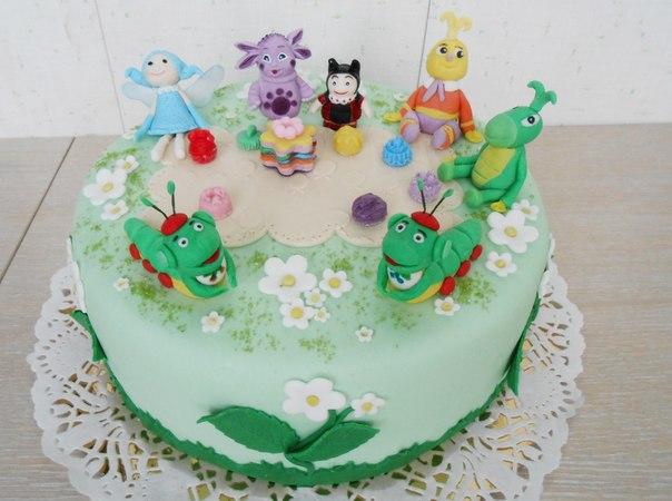 Веселые детские торты для малышей и подрастающего поколения