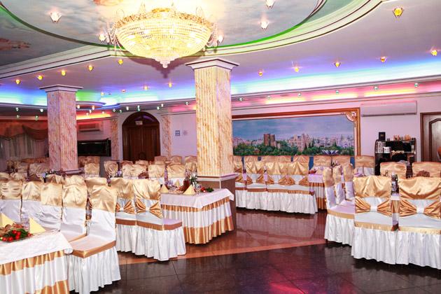 Банкетный зал подмосковного ресторана Каспий
