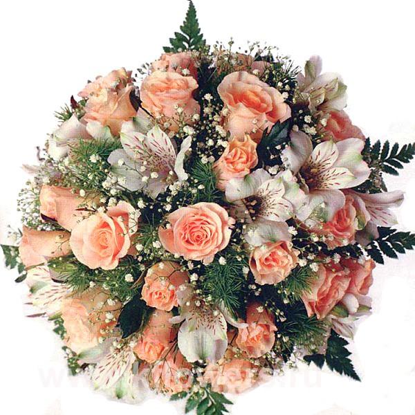Замечательная акция от фирмы Королевский Цветок - букет невесты в подарок