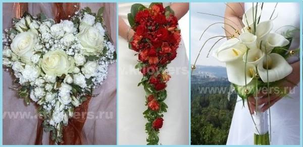 Выбор свадебного букета для невесты