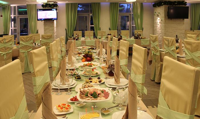 Подмосковный ресторан предлагает изобильное разнообразное меню