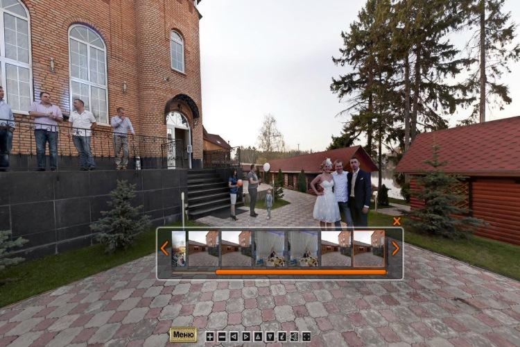 Сферические 3D панорамы - невероятно удобный эффектный формат свадебной съемки