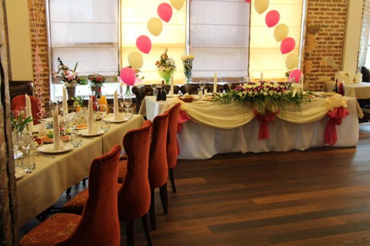 Сделать заказ банкетного зала к свадьбе можно ежедневно