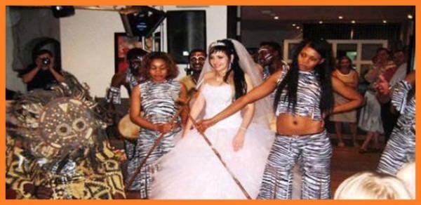 Африканское шоу SHOW TIME AFRICA на свадьбу