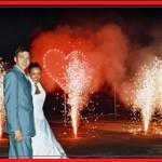 Пиротехническое шоу как грандиозная составляющая программы свадебного банкета