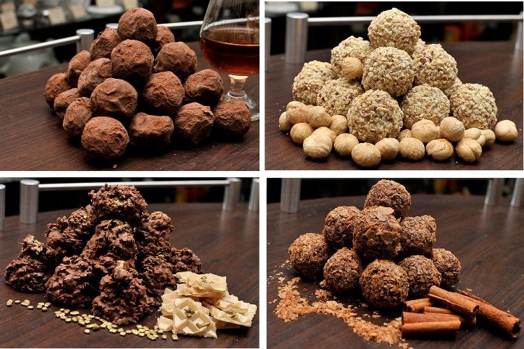 Изумительные шоколадные конфеты ручной работы от компании Кофейная Кантата