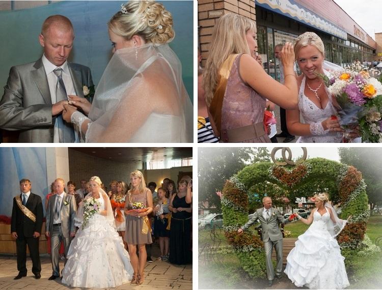Разглядывать свадебные фото можно бесконечно