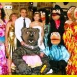 Зажигательное шоу на свадьбу в исполнении ростовых кукол коллектива «Высший класс»