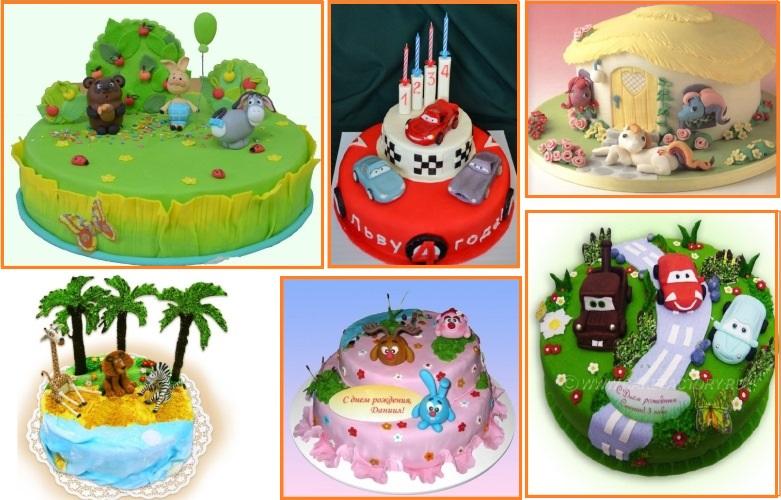 Чудесные детские торты на заказ к праздникам и дням рождения