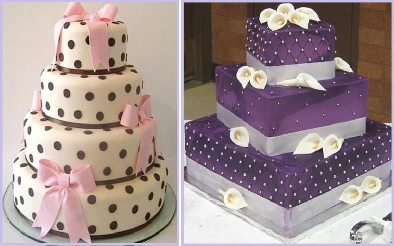 Свадебные торты на заказ - фото эффектных вариантов