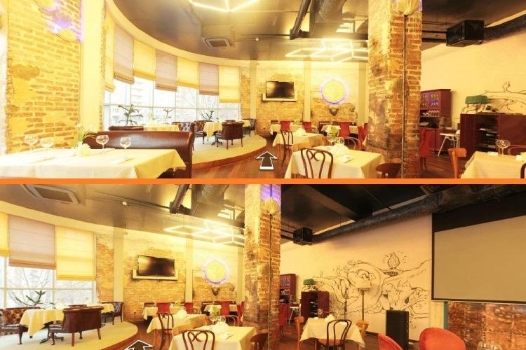 Фото из виртуального тура по ресторану La Veranda