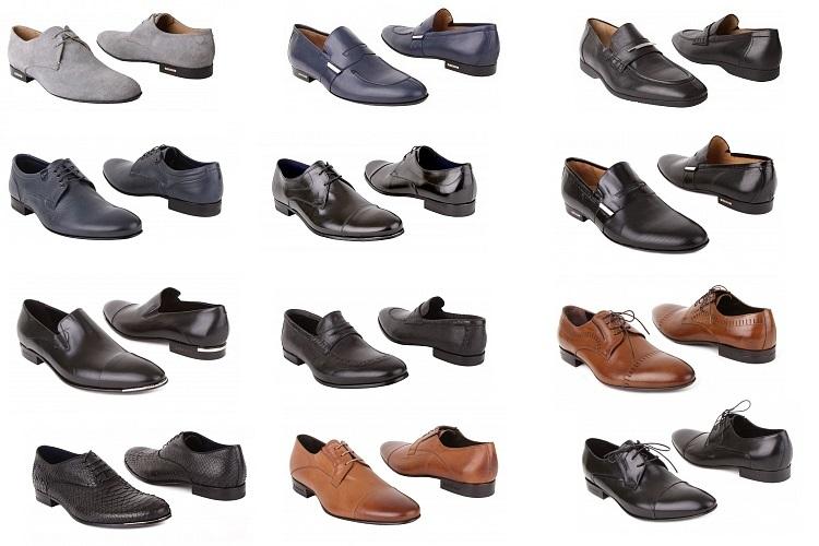Прочные стильные модели мужской обуви для свадьбы и повседневной носки