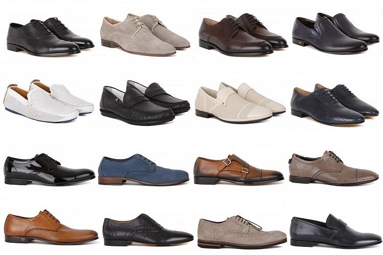 Итальянская сертифицированная мужская обувь, фото ряда стильных моделей