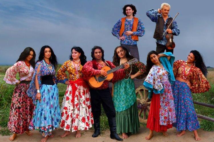 Замечательный цыганский ансамбль Свенко, Москва