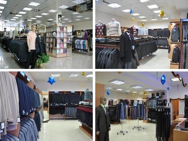 Магазины мужской одежды сети Сударь базируются в Москве и Подмосковье
