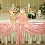 Розовая романтика в свадебном декоре и в настроении