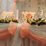 Объемные буквы от LEKS Studio как оригинальный способ оформления свадьбы