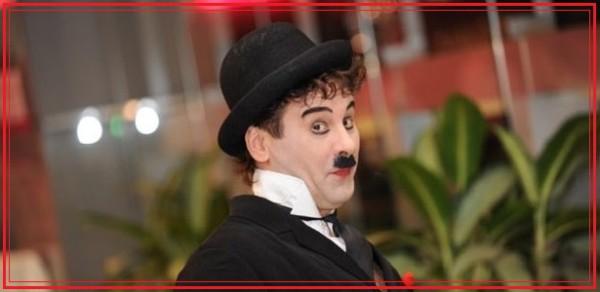 Двойник легендарного Чарли Чаплина - Рим Раянов, Москва