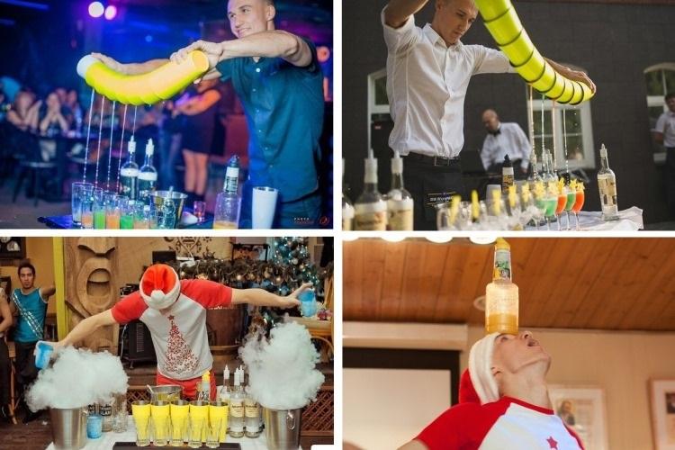 Бармен шоу - завораживающий процесс артистичного приготовления напитков