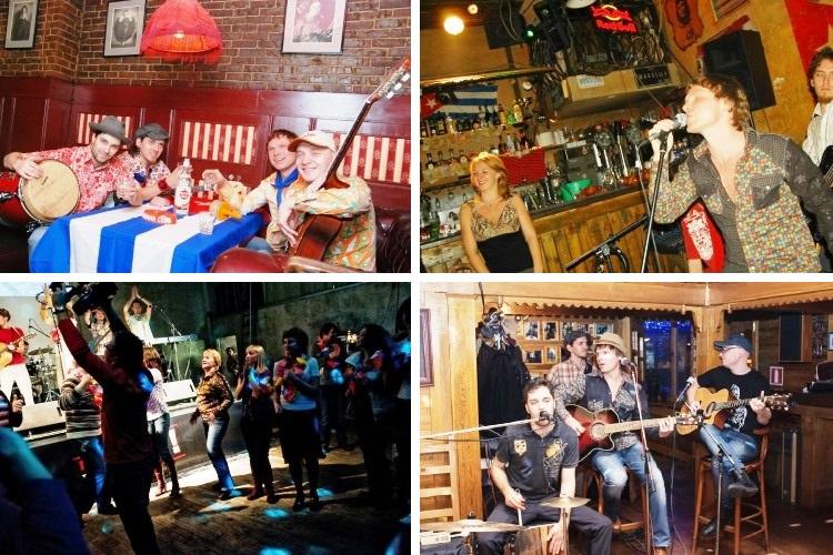 Кавер-группа Компаньерос работает на различных сценических площадках