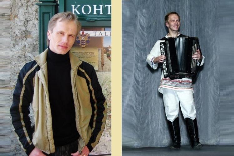 Фото руководителя ансамбля русской народной песни Китеж в жизни и на сцене
