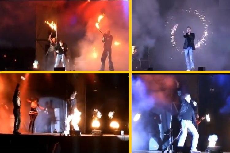 Феерия музыки, пламени, драйва царят на концертах Алекса