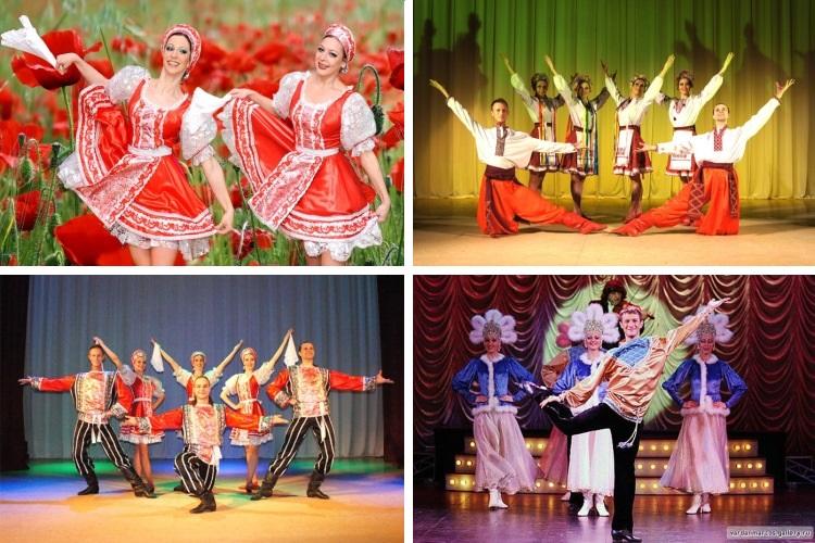 В исполнении шоу балета Ровена танец превращается в спектакль