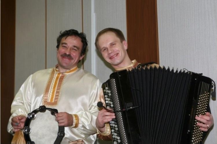 Сергей Брянский и Евгений Щепилин - исполнители русских народных песен