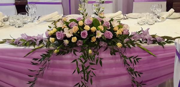 Винтажное оформление свадебного зала в ресторане Рандеву