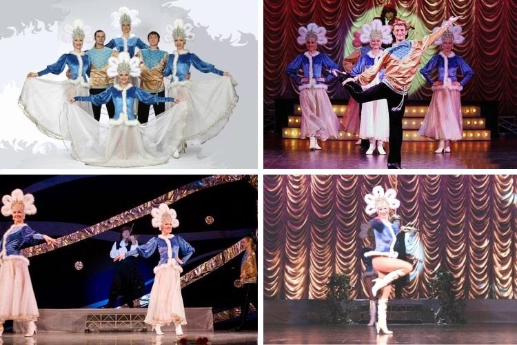 Русские хороводы и пляски в исполнении коллектива талантливых танцоров