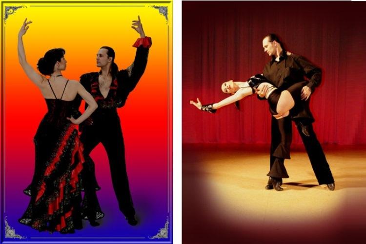 Изумительная постановка испанских зажигательных танцев
