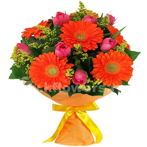 Фото букетов из цветов к 1 сентября