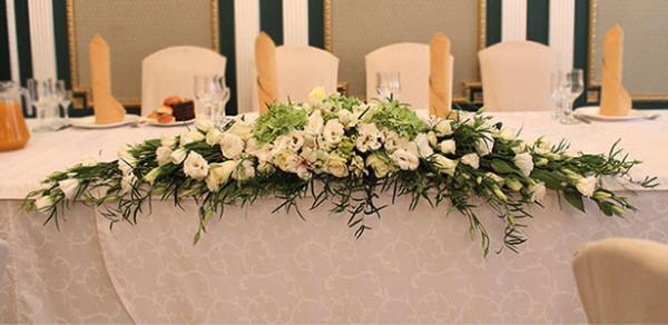 Дизайн свадебного банкета в ресторане Отдых, Щелково