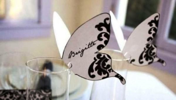 Свадебные рассадочные карточки своими руками