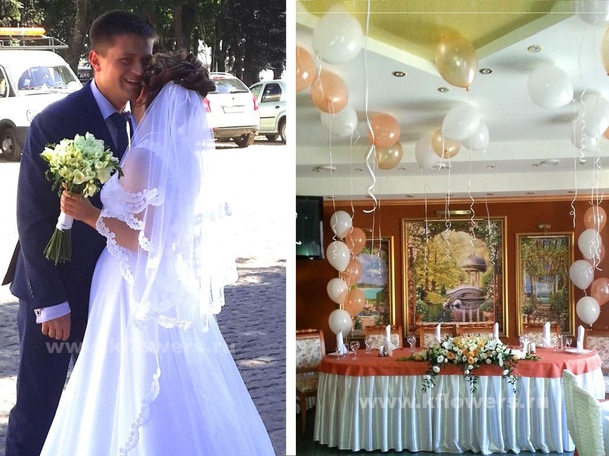 Нашим счастливым молодым мы подарили солнечный свадебный декор