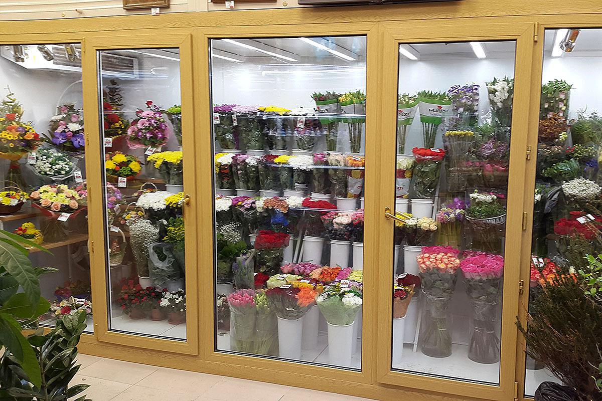 Магазин в Электростали входит в состав сети салонов фирмы Королевский Цветок
