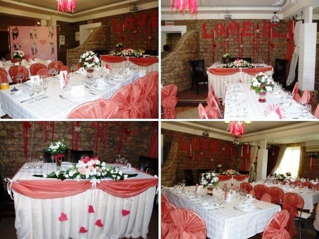 Интерьер кафе прекрасно подходит для проведения тематических свадеб