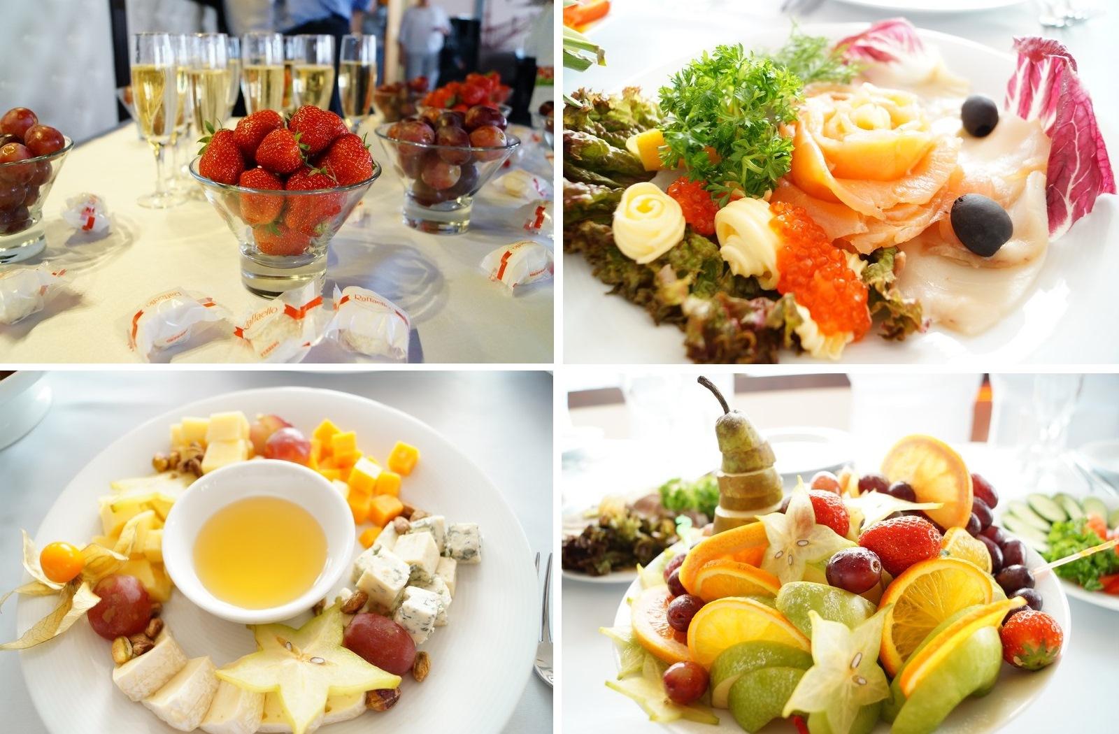 Кухня ресторана поражает вкусовыми качествами, блюда - оформлением