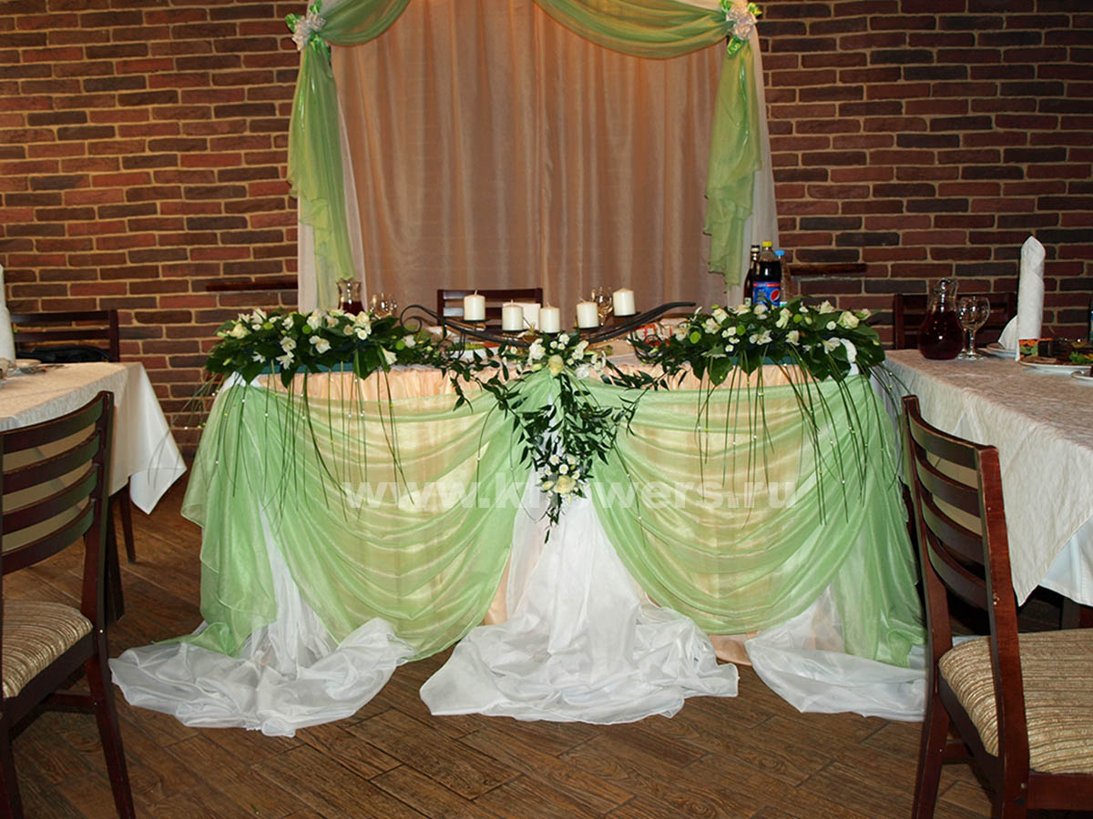 Декор свадеб королев