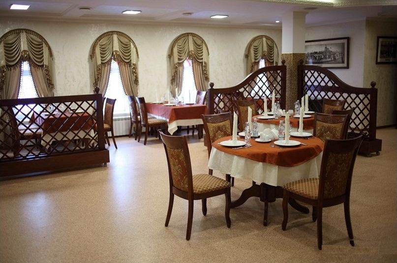 Интерьер Ресторана создан в духе зажиточных купеческих домов
