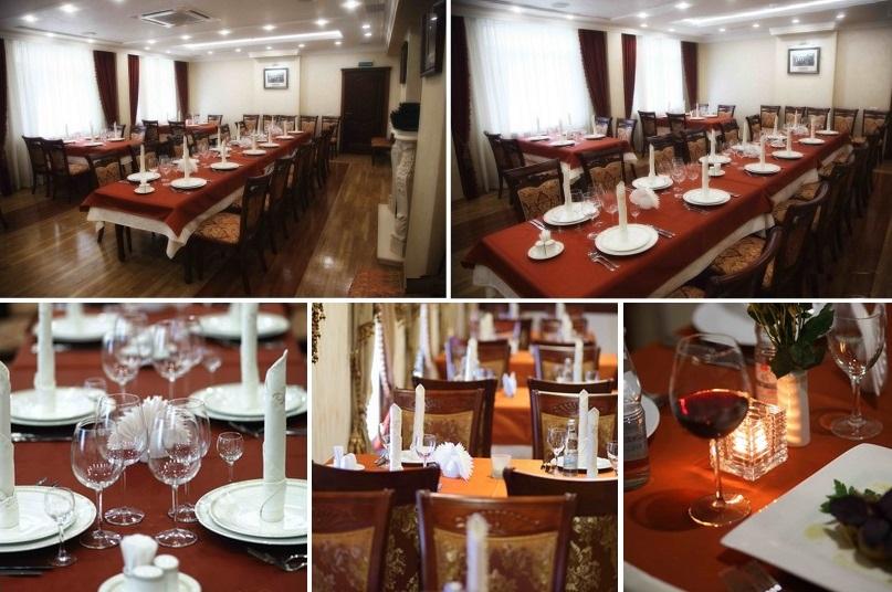 Богородский ресторан располагает двумя банкетными залами