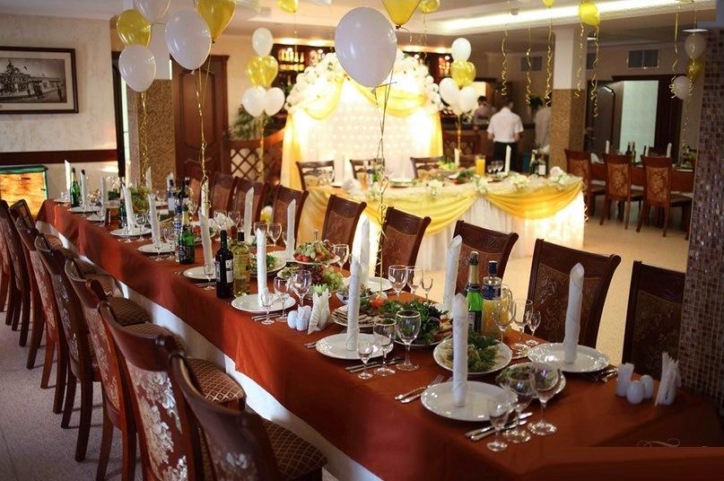 Бесподобное оформление свадебного зала в ресторане Богородский