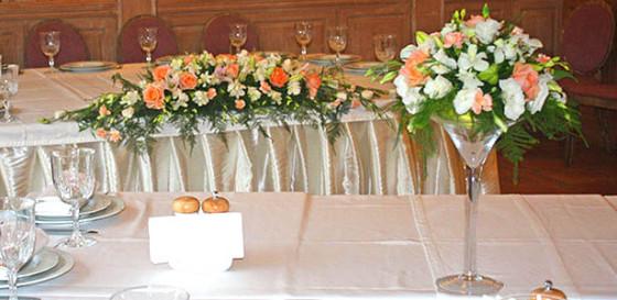 Оформление свадьбы в ресторане Оджахури