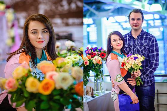 Юлия объяснила правила подбора цветов для букета на живых примерах
