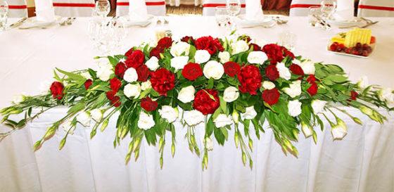 Свадьба на Красную Горку: оформление свадебного зала