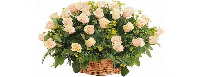 Букеты и корзины с цветами букета