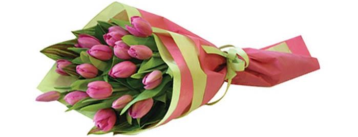 Каталог букетов с тюльпанами, фото. Купить букет из тюльпанов круглосуточно  с доставкой